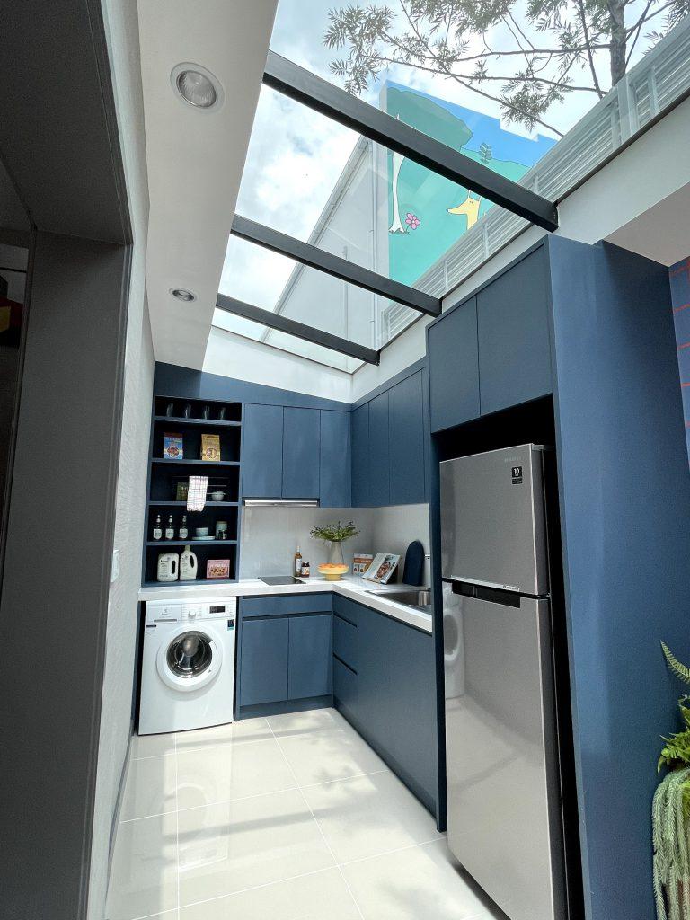 ห้องครัวบ้านตัวอย่าง Verve รามคำแหง - วงแหวน