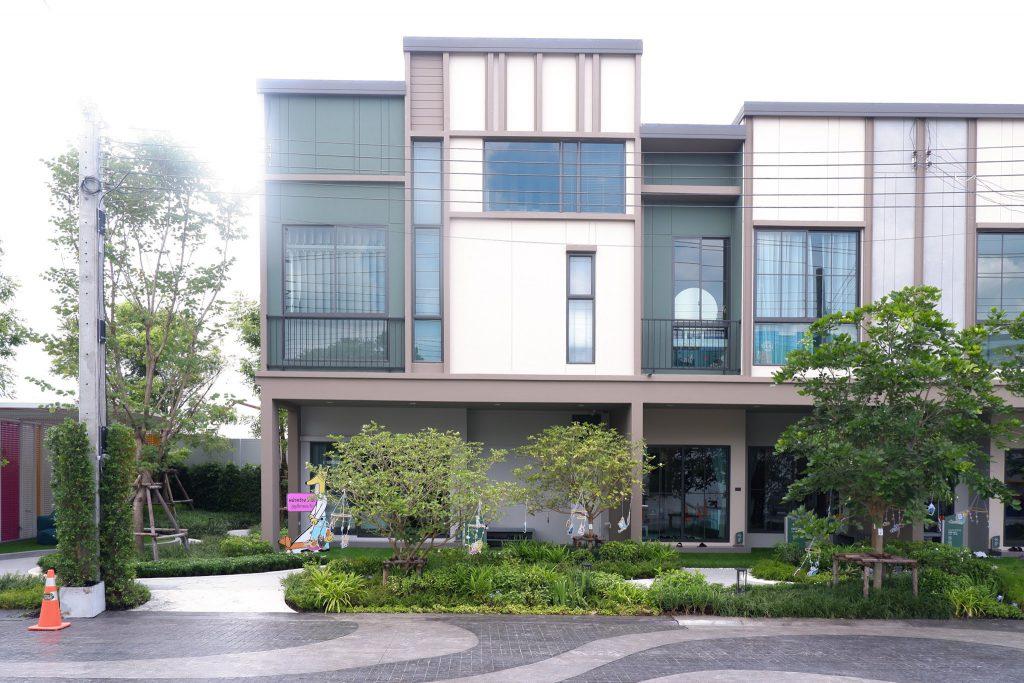 บ้านตัวอย่าง หน้ากว้าง 7 เมตร